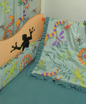 Lizard Crib Bedding Set