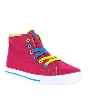 Pink Kinder Hi-Top Sneaker - Kids