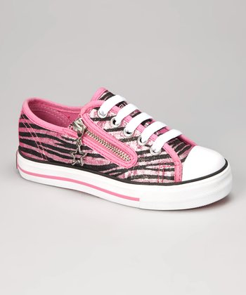 Hot Pink Jungle Sneaker - Women