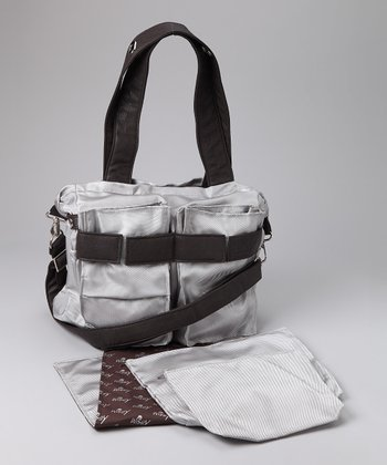 Silver Ultimate Diaper Bag