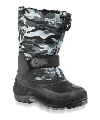 Black Waterbug6 Boot