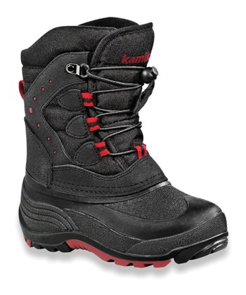 Black Sledding Boot