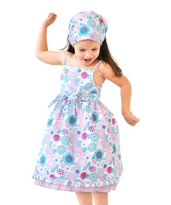 Fairy Garden Pink Babydoll Dress - Infant