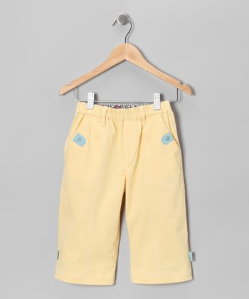 Sand Yellow Shorts - Toddler & Kids