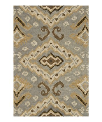 Slate & Gold Fairfield Wool Rug