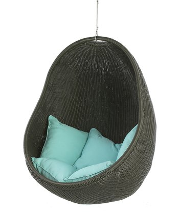 Chocolate & Turquoise Urban Balance Cover Chair