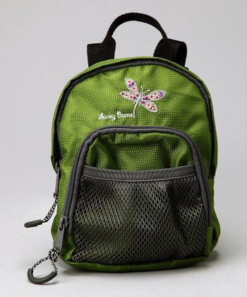 Green Lucky Bug Dragonfly Backpack
