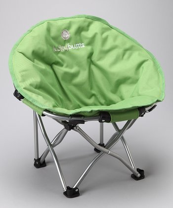 Green Small Moon Camp Chair