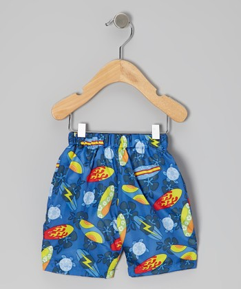 Royal Surfboard Swim Trunks - Infant & Toddler