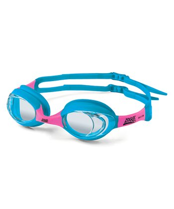 Light Blue & Pink Lil' Optima Goggles