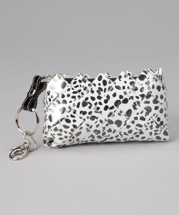 Black & White Dalmation Keychain Bag