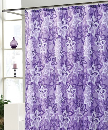 Purple Bradley Shower Curtain Set
