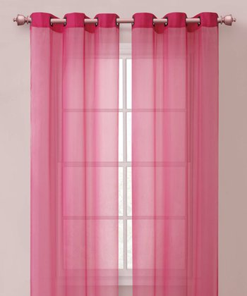 Hot Pink Carlson Curtain Panel