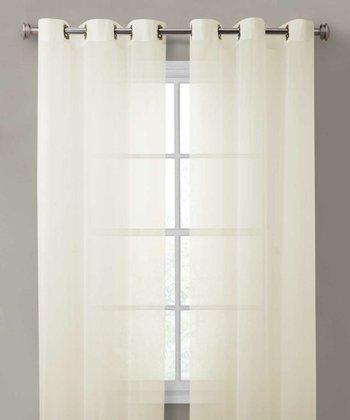 Ivory Carlson Curtain Panel