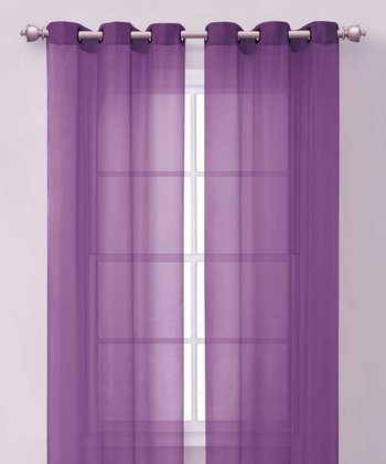 Purple Carlson Curtain Panel