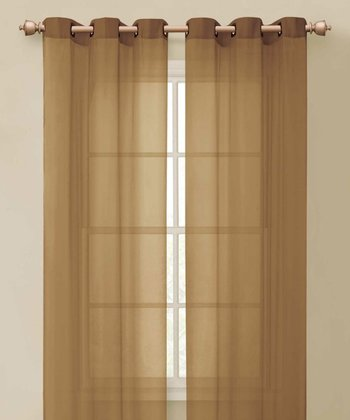 Taupe Carlson Curtain Panel