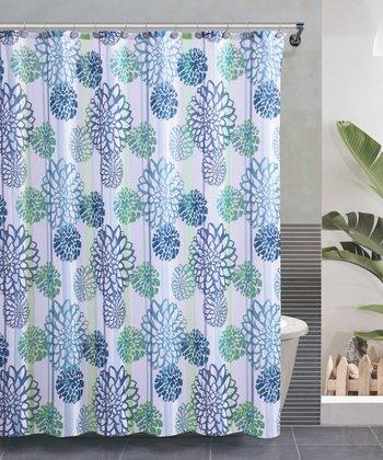 Blue Cameron Shower Curtain Set