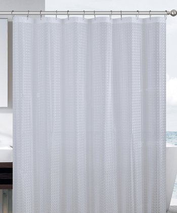 Clear Cube Eva Shower Curtain