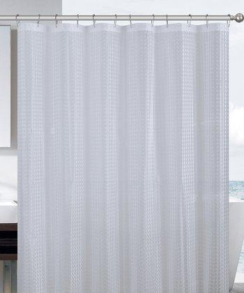 Clear Cube Eva Shower Curtain