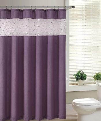 Purple Fame Shower Curtain