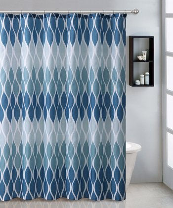 Blue Jansen Shower Curtain Set