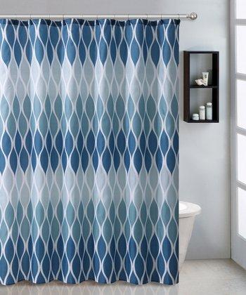 Blue Jansen Shower Curtain Set