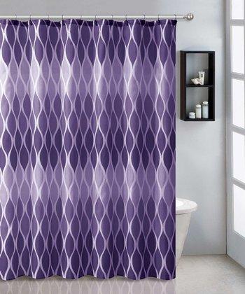 Purple Jansen Shower Curtain Set