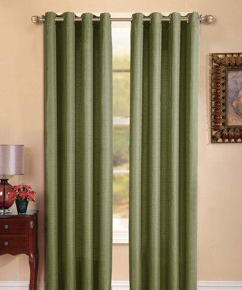 Sage Manchester Curtain Panel