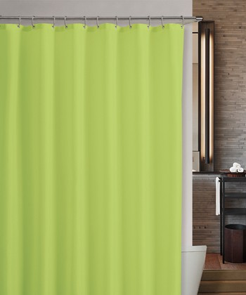 Lime Marcy Shower Curtain