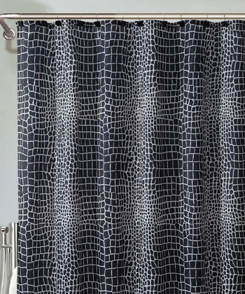 Black & White Nomad Shower Curtain
