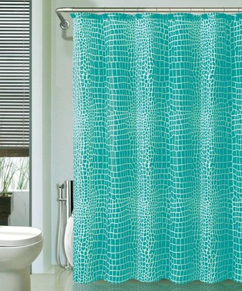 Blue Nomad Shower Curtain