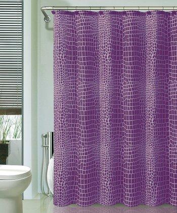 Purple Nomad Shower Curtain