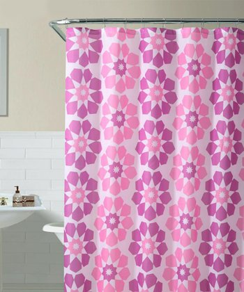Pink Pandora Shower Curtain
