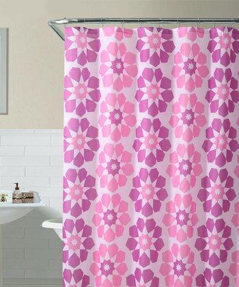 Pink Pandora Shower Curtain