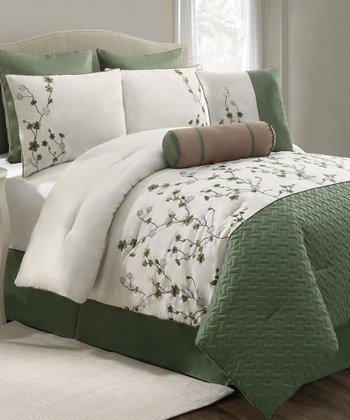Green Sadie Comforter Set