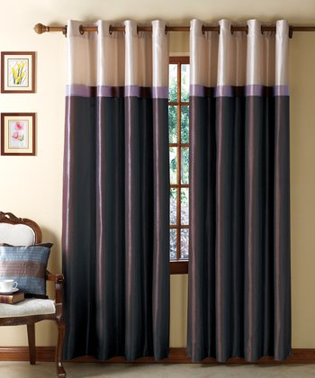 Plum & Taupe Westin Curtain Panel