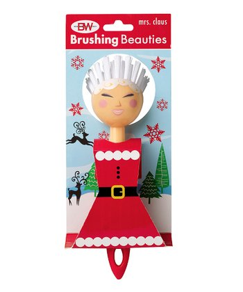 Boston Warehouse Mrs. Claus Brushing Beauty Scrub Brush