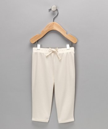 Natural	Organic Pocket Pant - Infant