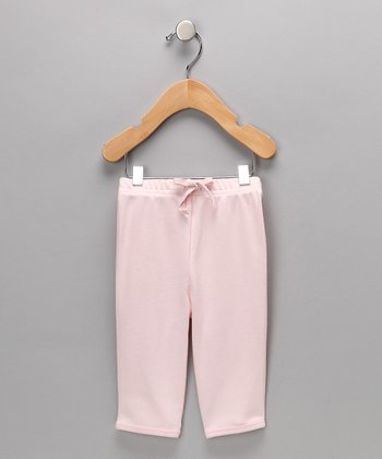 Pink Organic Pocket Pant - Infant