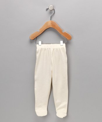 Natural	Organic Footie Pants - Infant & Toddler