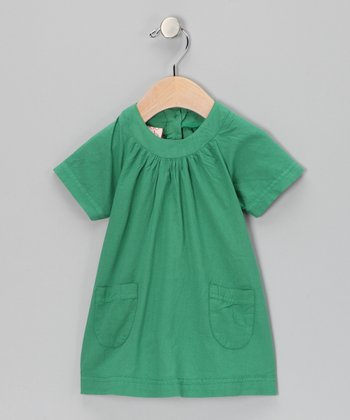Green Shift Dress - Infant