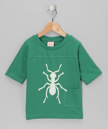 Green Ant Organic Tee - Toddler & Boys