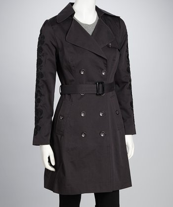 Charcoal Annette Mac Trench