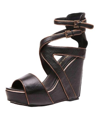Black Whitney Wedge