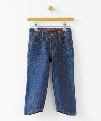 Denim Billy Shaped Hem Jeans - Infant, Toddler & Boys