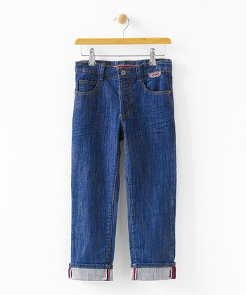 Denim Ralph Peg Top Jeans - Infant, Toddler & Boys