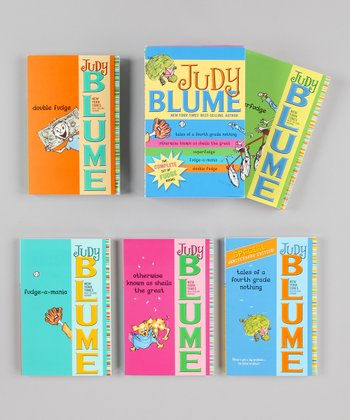 Judy Blume's Fudge Boxed Paperback Set