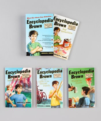 Encyclopedia Brown Boxed Hardcover Set