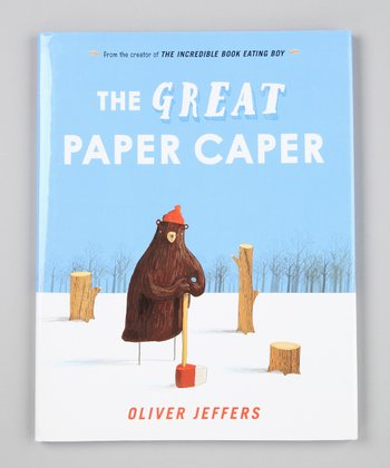 The Great Paper Caper Hardcover