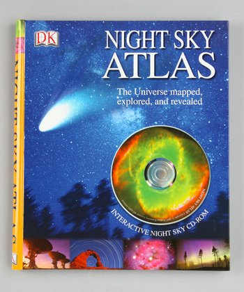 Night Sky Atlas Hardcover & CD